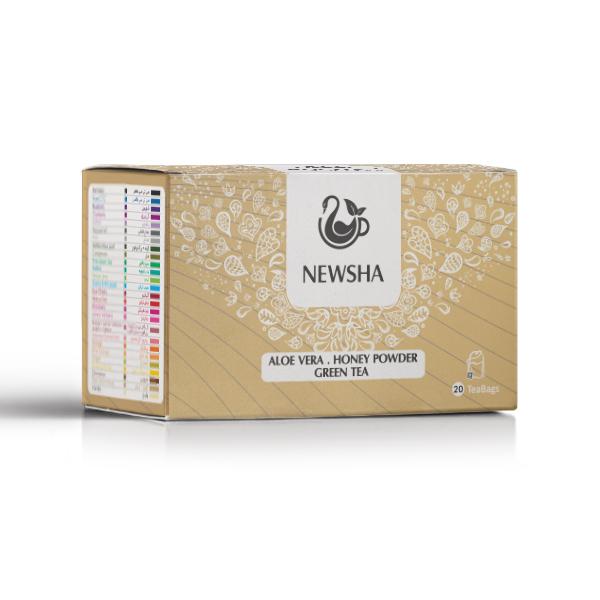 Aloe Vera . Honey Powder . Green Tea