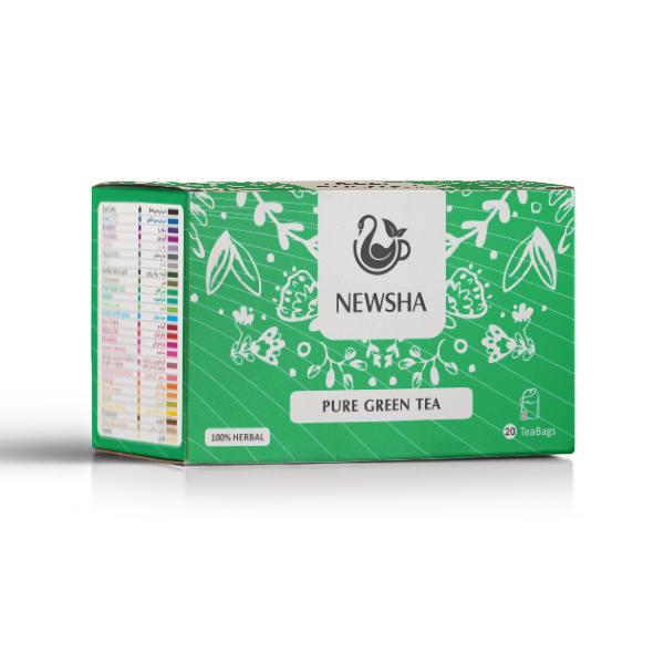 Green Teabag