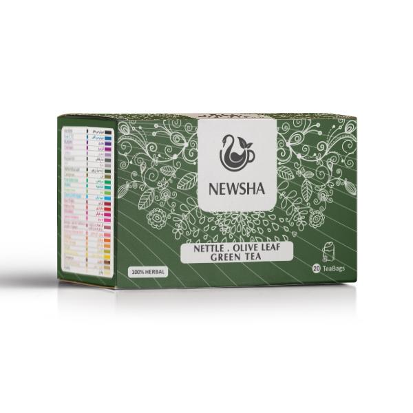 Nettle . Olive Leaf . Green Tea