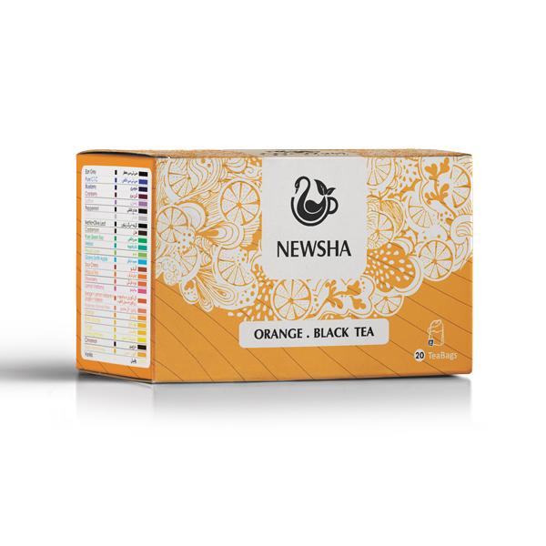 Orange . Black Tea